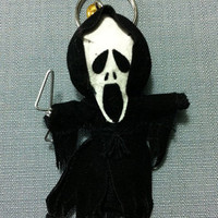 Scream Horror Movie Killer String Voodoo Doll Funny Keyring Keychain Key Ring Key Chain Bag Car
