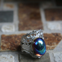 Opal Gemstone Kim Craftsmen Ring