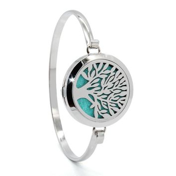 STYLEDOME Tree of Life  Essential Oils Diffuser Bracelet