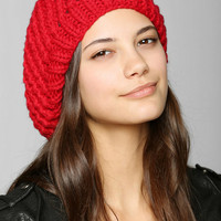 Open-Knit Beret - Urban Outfitters
