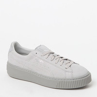 Puma Women's Gray Platform Reset Sneakers at PacSun.com