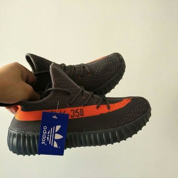 """Adidas Yeezy 350 Boost"" Unisex Casual Fashion Multicolor Running Shoes Couple Sneakers"