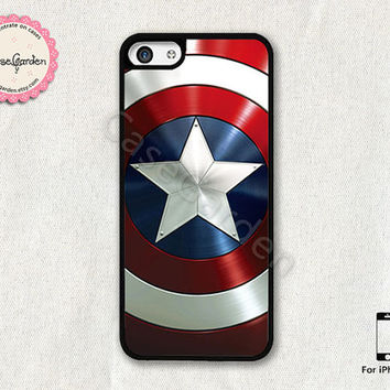 Captain America iPhone 5C Case, iPhone Case, iPhone Hard Case, iPhone 5C Cover
