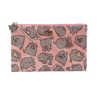 Pusheen Food Glitter Pencil Case