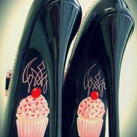 Multi Pumps / High Heels - Cupcake High Heels | UsTrendy