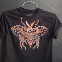 SALE moth shirt-  made to order