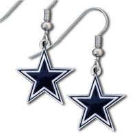 NFL Dallas Cowboys Dangle Earrings