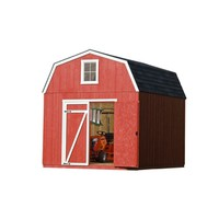 Shop Heartland Estate Gambrel Engineered Wood Storage Shed (Common: 10-ft x 12-ft; Interior Dimensions: 10-ft x 12-ft) at Lowes.com