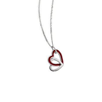 Women's Sterling Silver 18 inch Necklace, EMOTION Collection