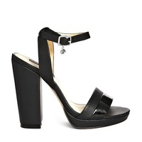 Blink Platform Ankle Strap Heeled Sandals