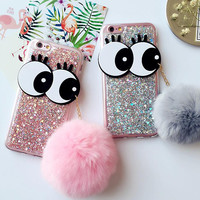 Rabbit Fur Case Cover for iPhone 7 7 Plus & iPhone 5s se + iPhone 6 6s Plus + Gift Box-68