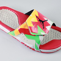 Air Jordan Hydro 7 VII Slip On Sandal Hare