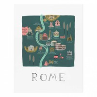 Rome Art Print by RIFLE PAPER Co. | Made in USA