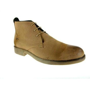 Alfa Men's M1730 Distressed Ankle Desert Boot