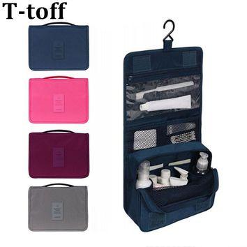 Waterproof  Hanging Toiletry Bag For Men & Women Cosmetic Organizer Travel Gear