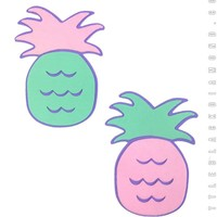 Pineapple Pasties in Retro