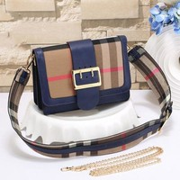 Burberry Women Fashion Leather Shoulder Bag Crossbody