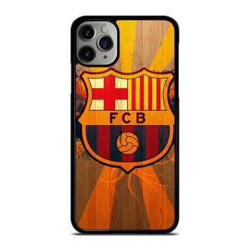 FC BARCELONA WOODEN ICON iPhone Case Cover