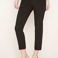 Tapered Cuffed Trousers