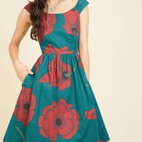 Celebrated Sophisticate Midi Dress | Mod Retro Vintage Dresses | ModCloth.com