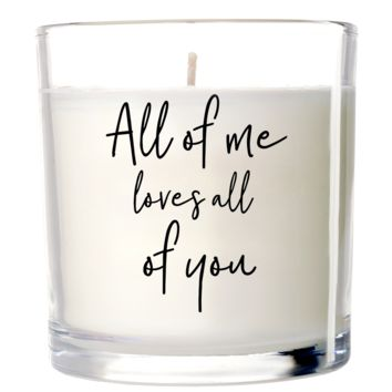 Love All of You Candle