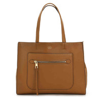 ELVAN LEATHER TOTE