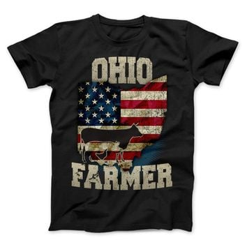 Ohio State Farmer Limited Edition Print T-Shirt & Apparel