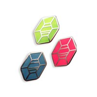 Rupees Enamel Pins (3 Pin Pack)
