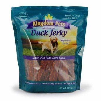 Kingdom Pets Premium Duck Jerky Dog Treats
