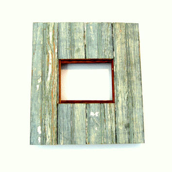 New Orleans Reclaimed Antique Beadboard Frame by RestorationHarbor