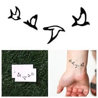 Double Date - Temporary Tattoo (Set of 2)