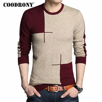 Winter New Arrivals Thick Warm Sweaters O-Neck Wool Sweater Men Brand Clothing