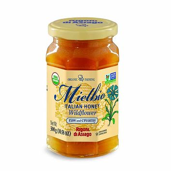 Rigoni di Asiago Mielbio Organic Wildflower Honey 10.5 oz. (300g)