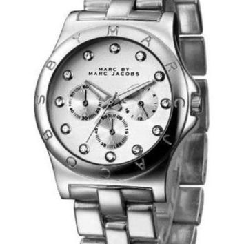 ONETOW MARC BY MARC JACOBS fashion exquisite watch Silver B-PS-XSDZBSH