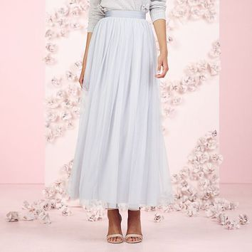 LC Lauren Conrad Runway Collection Tulle Maxi Skirt - Women's