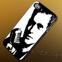 Michael Buble Sittin' on a1419 - iPhone 4/4s/5c/5s/5 Case - Samsung Galaxy S3/S4 Case - Black or White