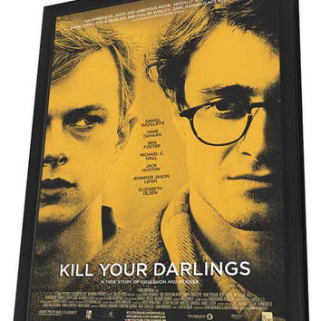 Kill Your Darlings (Canadian) 11x17 Framed Movie Poster (2013)