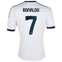 2012-13 Real Madrid Home (Ronaldo 7) Soccer Jersey Size M