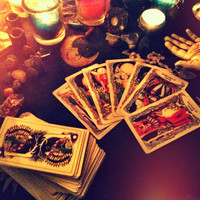 "7 Card Tarot Reading - Through the Shadows - Bringing Light to ""Dark"" Circumstances - Card Images & Written Reading"
