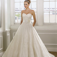 Mori Lee 1612 Lace Ball Gown  Wedding Dress
