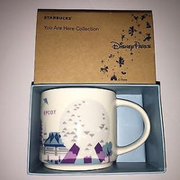 Disney Parks Starbucks You Are Here Epcot Coffe Mug Silver Monorail