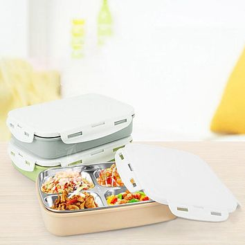 Stainless Steel Thermo Bento Lunch Boxs Japanese Food Box Insulated Lunchbox Thermal School Food Container