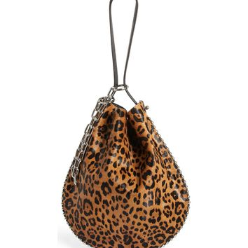 Alexander Wang Roxy Leather & Genuine Calf Hair Bucket Bag | Nordstrom