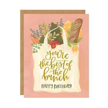 Best of the Bunch Birthday Card