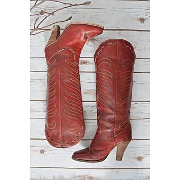 7d659d90fd8 Shop Vintage Cowgirl Boots on Wanelo