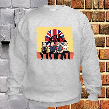 Arctic Monkeys pose sweater Sweatshirt Crewneck Men or Women Unisex Size