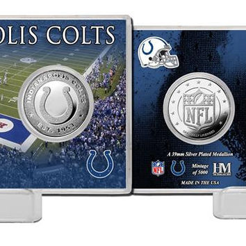 Indianapolis Colts Silver Coin Card - Stadium