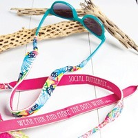 Lilly Pulitzer Sunglasses Croakies-Lilly Pulitzer Sunglass Straps