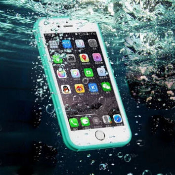 Super Protection Waterproof Case Cover for iphone 5s 6 6s Plus