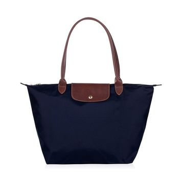 Cunada® Women Fashion Hobo Bag Large Tote Blue Shoulder Handbag